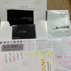 鉄人化計画&田谷の株主優待etc