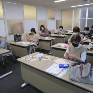韓国観光公社福岡・コリアプラザでのポジャギとメドゥプ教室!