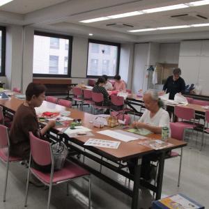 朝日カルチャーセンター北九州でのポジャギ教室!