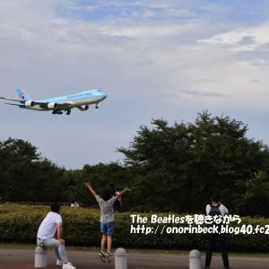 さくらの山へ出撃(新作3)@梅雨晴れの成田空港
