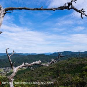 開ける展望を眺めながら 雨生山・金山