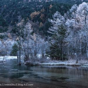 初冬の田代池 上高地