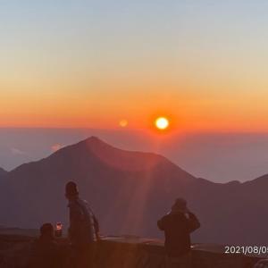 穂高岳山荘〜上高地