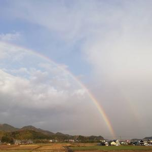 虹。自然。。。偉大なパワー