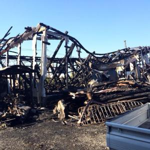 バルバロの事務所が全焼しました…