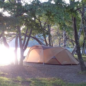 平日キャンプなう。