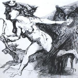 Lajos Szalay-ピカソが自分の次に偉大な線描画家だと評価したハンガリーの作家