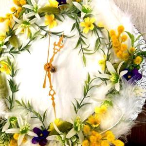天使の花時計