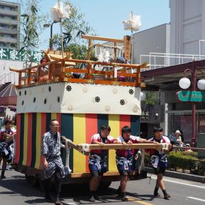 大垣祭り2019からくり人形と13両の軕(5月11日撮影)