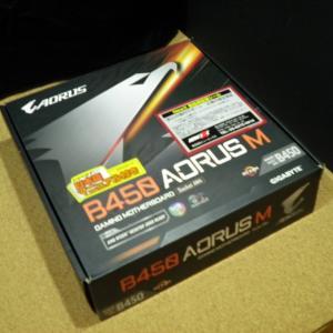 B450 AORUS M を買いました。