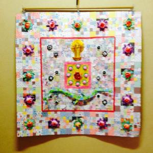 折り紙による龍神曼荼羅
