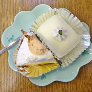 洋菓子レモンパイ @田原町*レモンパイ、ホワイトチョコケーキ