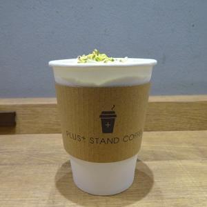 PLUS+ STAND COFFEE @西荻窪*ピスタチオラテ