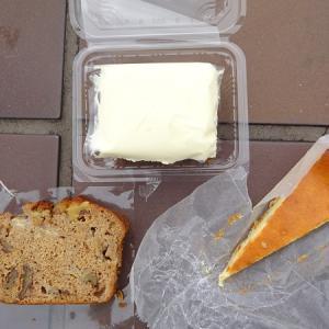ブラフベーカリー @日本大通り*キャロットケーキ、NYチーズパイ、バナナブレッド