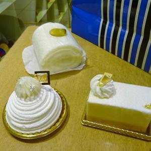 資生堂パーラー @東京駅*フロマージュ、白いモンブラン、白いロールケーキ