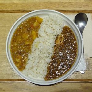 スープストックトーキョー*無花果チャツネのキーマカレー、マンゴーと豚肉のフルーツカレー