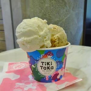 猿田彦珈琲とティキタカアイスクリームのお店 @新宿*日本酒獺祭、いちじくワイン、ビーボピスタチオ