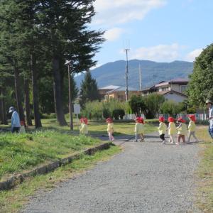 園児 天使のようです 長野市運動公園