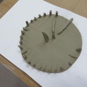 サークルストーンと 日時計