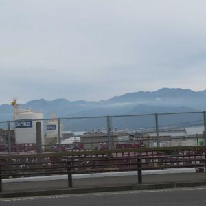 長野市 北の山並み