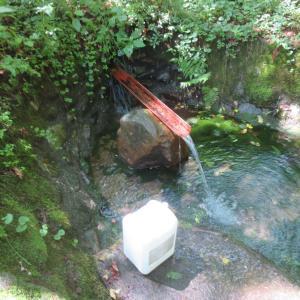 坂城町 桜馬場の湧水