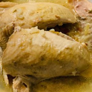 参鶏湯を作る。世の中は悪いことばかりではないですよ