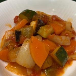 野菜がたくさん取れるラタトウイユ 無水で調理