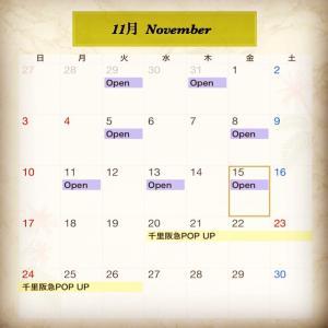 11月のオープンDAY