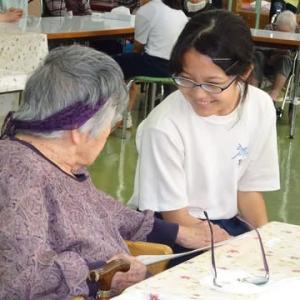三芳中学校 職場体験