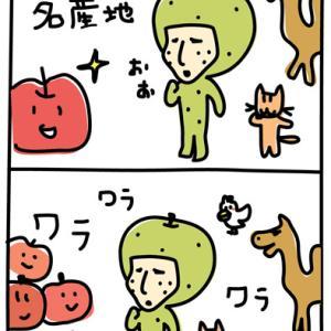 りんごの名産地に・・!