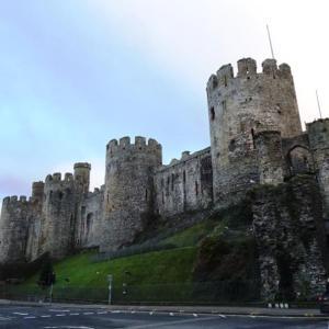 ★ウェールズ北部の世界遺産・コンウィ城で迷子?。
