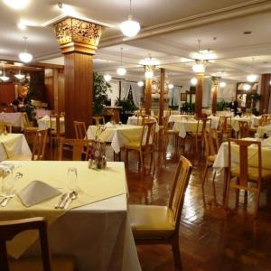 ★日光金谷ホテルの夕食、キャビアやトリュフが。