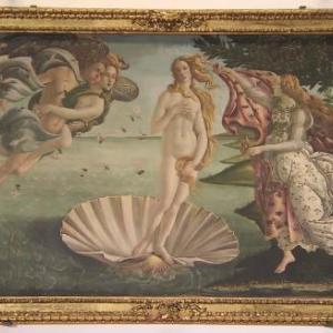 ★日曜美術館、西洋絵画傑作15選4「ヴィーナスの誕生」、初フィレンツェを思い出し。
