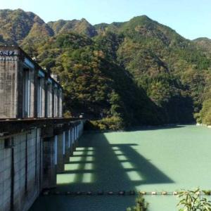 ★浜松市!佐久間ダムで放水を見学。