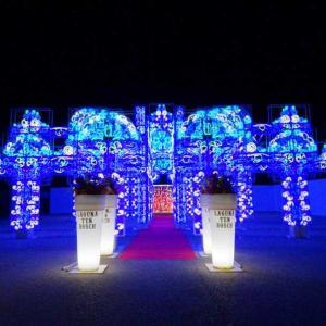 ★変なホテル!日本初360度プロジェクションマッピングのテーマパーク「ラグナシア」。