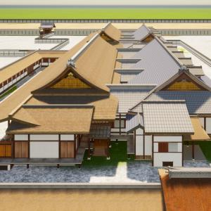 京都御所の御殿へ上がってみようシリーズ Vol.3 Twinmotionでレンダリングしてみた。