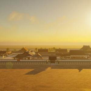 京都御所の御殿へ上がってみようシリーズ Vol.4 続々Twinmotionでレンダリングしてみた。