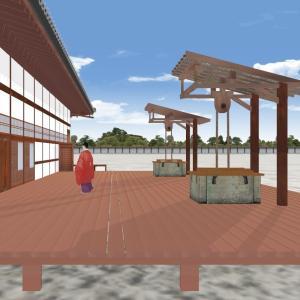 戦前まで残っていた京都御所の大台所廻りの3Dにチャレンジ! 清所編