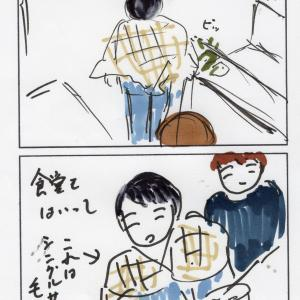 自閉症四コマ漫画 電車で大阪へとオリジナルレクイエム 星のレクイエム