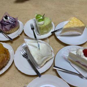 みんなで『コージーコーナー』のケーキを( ^ω^ )