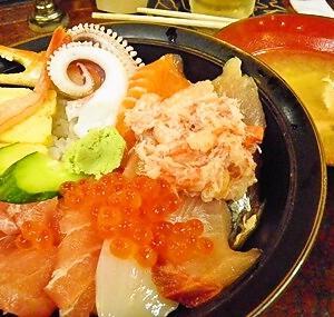 金沢で海鮮どんぶり!!