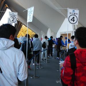 世田谷246ハーフマラソン:疲労困憊の中のビルドアップ走