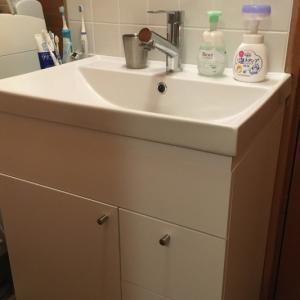 自宅の洗面台づくり