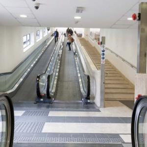 斜めな階段