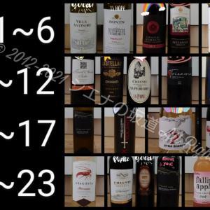 〚ワイン〛上半期の購入品