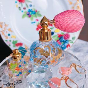 ポーセラーツde 色とりどりな 香りのボトル♡