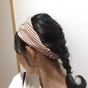 編み込み&ヘアバンド