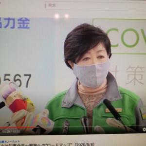 何しろ暇だから、小池東京都知事の記者会見ライブで見ちゃいました!さすが、日本の首都のトップ!
