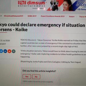 """マレーシアの新聞"""" The Star""""では、2つの相反する記事が掲載されました。"""