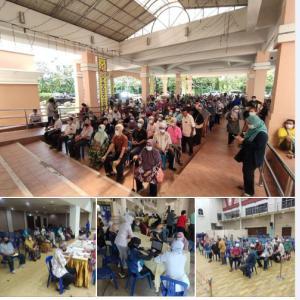 始まりましたマレーシアのワクチン接種第2フェーズ! 医療従事者9人がワクチン接種後感染!